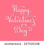 happy valentine's day card.... | Shutterstock .eps vector #337420148