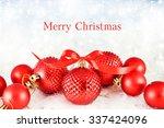 christmas background   Shutterstock . vector #337424096