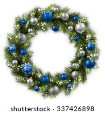 white card with christmas... | Shutterstock .eps vector #337426898
