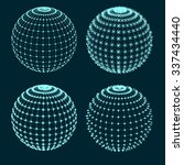 set of spheres | Shutterstock .eps vector #337434440