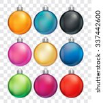 Christmas Baubles In Various...