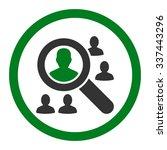 explore patients vector icon.... | Shutterstock .eps vector #337443296