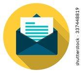mail button | Shutterstock .eps vector #337448819