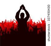 advertising banner for any... | Shutterstock .eps vector #337450430