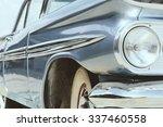 vintage car side   Shutterstock . vector #337460558