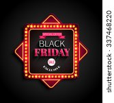 black friday special offer... | Shutterstock . vector #337468220