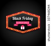 black friday special offer... | Shutterstock . vector #337468244