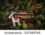 merry christmas. christmas...   Shutterstock . vector #337484789