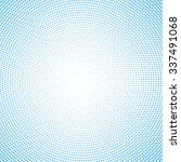 halftone background. vector... | Shutterstock .eps vector #337491068