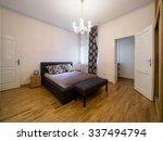 apartment bedroom  interior | Shutterstock . vector #337494794