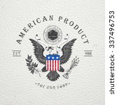 american gun shop. firearms...   Shutterstock .eps vector #337496753