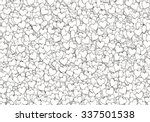 many white hearts backgrounds.... | Shutterstock . vector #337501538