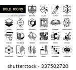 creative contemporary icon set... | Shutterstock .eps vector #337502720