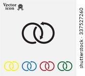 arrow vector icon | Shutterstock .eps vector #337527260