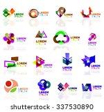 geometric shapes company logo... | Shutterstock .eps vector #337530890