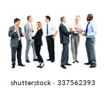 business people meeting... | Shutterstock . vector #337562393