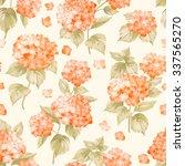 Orange Flower Hydrangea On...