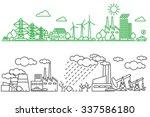 environment  ecology... | Shutterstock . vector #337586180