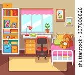 preschool or school student... | Shutterstock .eps vector #337606826