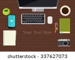 work space | Shutterstock .eps vector #337627073