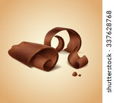 chocolate roll | Shutterstock .eps vector #337628768