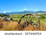 Wagon And Wheels Lay Abandoned...