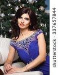 portrait of gorgeous woman in... | Shutterstock . vector #337657844