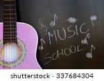 music school for children with... | Shutterstock . vector #337684304
