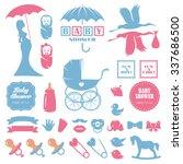 Baby Shower Design Elements...