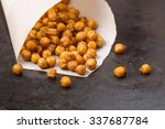chickpeas baked with spices... | Shutterstock . vector #337687784