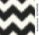 abstract noisy edges chevron. ... | Shutterstock .eps vector #337689608