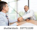 handshake. | Shutterstock . vector #337711100