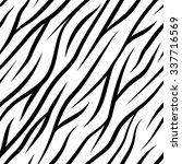 zebra stripes seamless pattern... | Shutterstock .eps vector #337716569