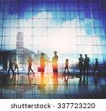 business people meeting... | Shutterstock . vector #337723220