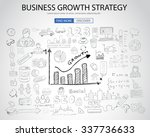 business growth strategy  with... | Shutterstock . vector #337736633