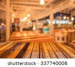 Image Of Blur  Restaurant On...