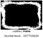 grunge frame   abstract texture.... | Shutterstock .eps vector #337753634