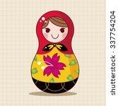 matryoshka   russian...   Shutterstock .eps vector #337754204