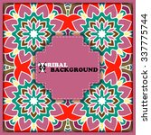 elegant vintage card. hand...   Shutterstock .eps vector #337775744
