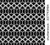black and white geometric... | Shutterstock .eps vector #337793984