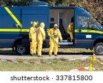 scientists dosimetrists in... | Shutterstock . vector #337815800
