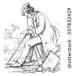 drawing lucida  vintage...   Shutterstock .eps vector #337832429