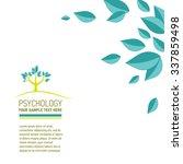 vector psychological sign. logo ... | Shutterstock .eps vector #337859498