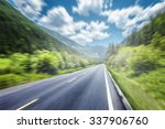 mountain road | Shutterstock . vector #337906760