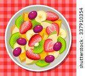 fruit salad | Shutterstock .eps vector #337910354