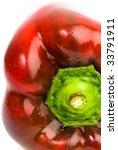 red pepper closeup   Shutterstock . vector #33791911