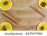 sliced and lemons sliced on... | Shutterstock . vector #337937990