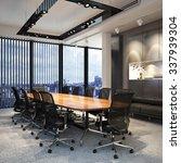executive modern empty business ...   Shutterstock . vector #337939304