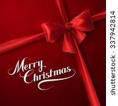 merry christmas. holiday vector ...   Shutterstock .eps vector #337942814