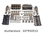 disassembled for spare parts... | Shutterstock . vector #337943513